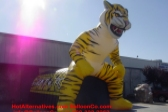 Click for Other Views Tiger Football Mascot Tunnel