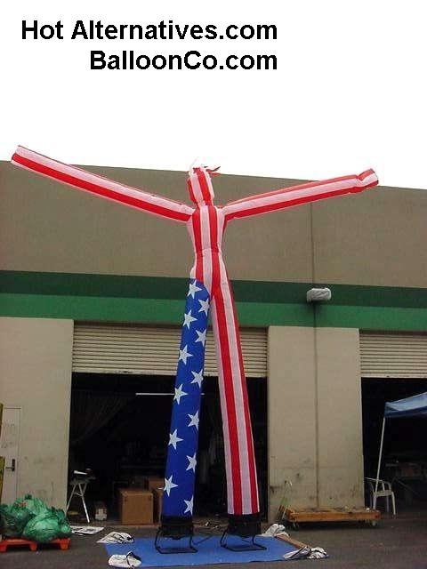 Puffy Dancing AMERICAN FLAGMAN